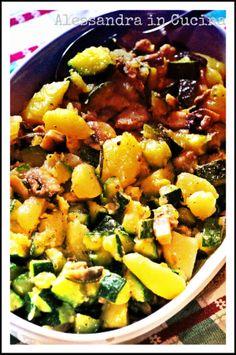 Medaglioni di muscolo di grano e verdure miste « Alessandra in cucina...