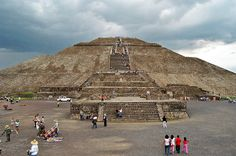Piramide_Sol - Teotihuacán – México