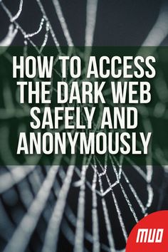 If you want to know how to access the dark web in a safe and anonymous way, keep reading. There are some crucial steps you need to take when you want to get on the dark web. Learn Computer Science, Life Hacks Computer, Computer Diy, Computer Projects, Computer Coding, Computer Basics, Computer Internet, Computer Security, Computer Programming