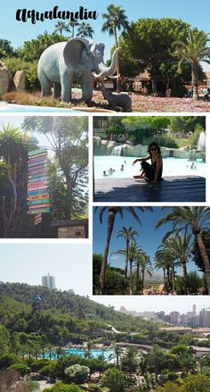 aqualandia waterpark Benidorm