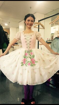 Here is a closer look at the costumes for our first production this season, 'La Fille Mal Gardee'! They are colourful and bright, and perfectly fit with the fun and humour of the ballet. Ballet Wear, Ballet Tutu, Tutu Costumes, Ballet Costumes, Ballerina Costume, Ballerina Clothes, Ballerina Dress, Ballet Fashion, Lolita Fashion