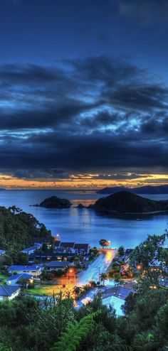 Paihia Bay View Morning - Northland, NZ