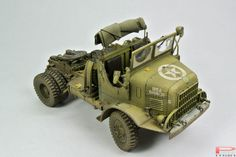 M426 Tractor Trucks (5 ton) 1/35 Scale Model