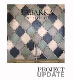Love these tiles..wonder if I could create a faux version of those for cheaper???