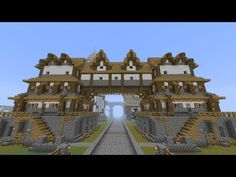 Minecraft: Medieval Huge Building / Home Tutorial [part 105 season 1] - YouTube