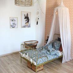 Jaelyn's room ✨ Numero 74 canopy #numero74 #canopy #kidsroom
