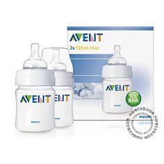 Avent 0% BPA PP Biberon 125 ml İkili