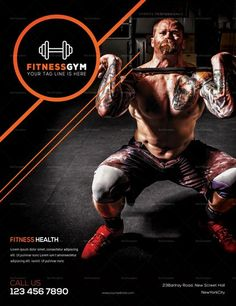 deadlift workout for beginners Fitness Flyer, Fitness Gym, Fitness Motivation, Fitness Equipment, Social Design, Gym Design, Flyer Design, Gym Banner, Month Workout Challenge