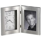 Found it at Wayfair - Lewiston Tabletop Clock with Picture Frame