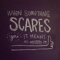 You scare me Quotes To Live By, Me Quotes, Qoutes, You Scare Me, Word Up, Happy Thoughts, Be Yourself Quotes, Inspire Me, Relationship Quotes