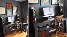 The Minimalist Musician's Workspace