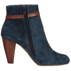Chocolate Schubar PABEL Ankle boots ($185) ❤ liked on Polyvore