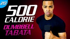 35 Min. Dumbbell Cardio Tabata Workout | 500 Calorie HIIT MAX Day 20