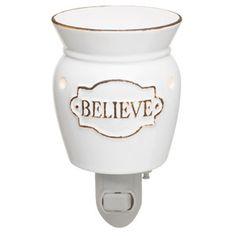 Believe Nightlight Scentsy Warmer