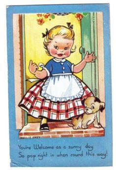 Mollie Grey postcard   eBay