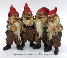 kjell midthun   Fjøsnisse 4-er Gruppe, original norwegische Fjøsnisse…