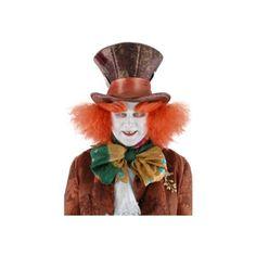 Alice in Wonderland Mad Hatter Hat with Hair, Disney