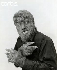 classic horror film The Wolfman Classic Monster Movies, Classic Horror Movies, Classic Monsters, Hollywood Monsters, Lon Chaney Jr, Monster Photos, Pokemon, Famous Monsters, Bride Of Frankenstein