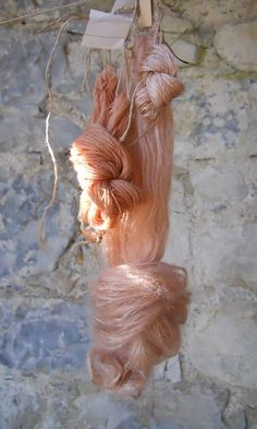 yarn dyed with St. John'swort, by Mary Lena Lynx ... beautiful yarn, beautiful photo