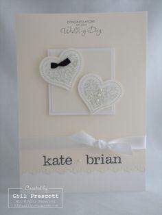 Stampin Up Wedding   http://weddingcardtemplates.blogspot.com