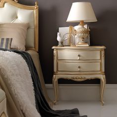 High End Louis Reproduction Bedside Cabinet at Juliettes Interiors, bedside cabinets and a large collection of Classical Furniture. Kids Bedroom, Bedroom Decor, Dressing Table With Chair, Bedside Cabinet, Nightstand, Contemporary Furniture, Interiors, Bedside Tables, French Style
