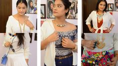 8 Ways To Style Your Classic White Shirt | Aarushi Jain