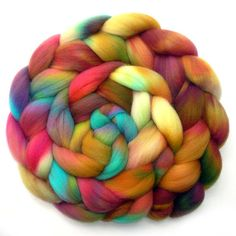 Falkland Combed Top Roving Farmhouse 6.3 oz. by JulieSpins