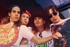 Young Red Hot Chili Peppers John Frusciante Anthony Kiedis Flea Chad Smith