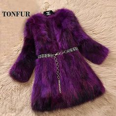 2018 New Arrival Real Fox Fur Coat Lady Top Selling Factory Wholesale