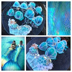 Why did the mermaid wear seashells?  ..... Because the D shells were too big and the B shells were too small!  lol there's your humor for the day! Make sure to get in orders early if you want to be a sparkley little plurmaid for Ultra, EDC, Beyond Wonderland, SMF, or more - I've been getting booked like crazy since the new year started and want to accommodate as many orders as I'm capable of... But this is a one woman operation and I'm only human! On a similar note, please give me abo...