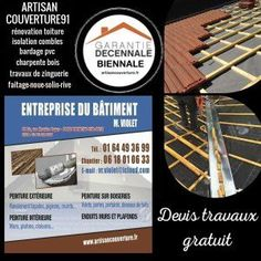 ARTISAN COUVREUR via @ARTISANVIOLET Artisan, Flood Damage, Craftsman