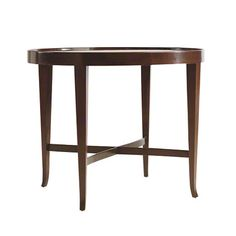 Baker Furniture : Oval Coffee Table   3469 : Tables : Barbara Barry
