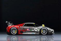 Porsche 918 Spyder Flying Lizard