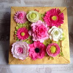 """All things nice collaboration """"floral frame"""" by Daisycupcake"""