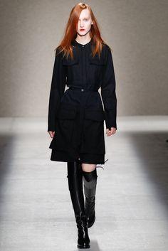 A.F. Vandevorst Fall 2014 Ready-to-Wear Fashion Show - Jane Gryennikova