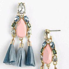 #tasselearrings #earringlove #earrings #tessales Tassel Earrings, Drop Earrings, Personalized Items, Jewelry, Fashion, Moda, Jewlery, Jewerly, Fashion Styles