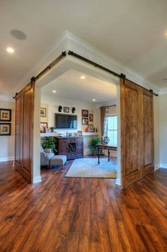 Diggin the barn door privacy panels for the master bedroom or loft on interior room designs, log home dining rooms, log home halloween, spanish room designs, log cabin interior design, log home bar, family room designs, log home living rooms, log cabin living room, kitchen room designs, log house designs, concrete room designs, log home cabinet, modern room designs, log home kitchen, log home interior, log home decor, cape cod room designs, log home modern, office room designs,