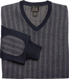 Signature Collection Merino Wool V-Neck Sweater CLEARANCE