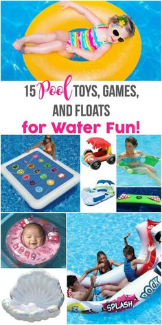 The BEST pool floats and pool rafts.
