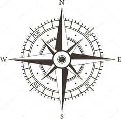 Baixar - Rosa dos ventos — Ilustração de Stock #13557849