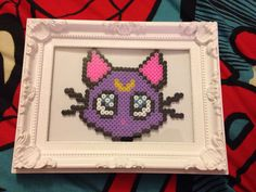 Hey, I found this really awesome Etsy listing at https://www.etsy.com/ru/listing/221848930/luna-from-sailor-moon-framed-anime-pixel