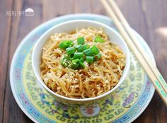 sesame shirataki noodles; quick, easy. I subbed peas for the cabbage, and scrambled an egg into the mix as well. Tasty stuff!!