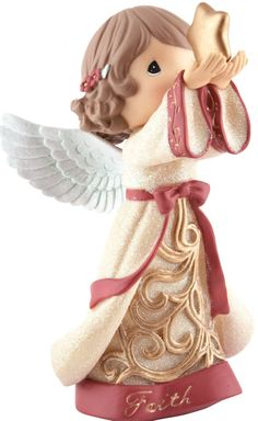 Item Number: 131430 Material: Stone Resin Weight: 0.70 lb Sometimes it takes a leap of faith to reach for your dreams, but if you believe in yourself anything is possible! This angelic little one, in