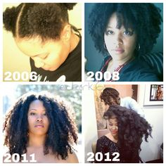 Your hair will growth IF you care for it and be patient!