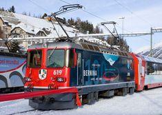 Blonde Hair Boy, St Moritz, Swiss Railways, Transport Companies, Electric Train, Electric Locomotive, Train Journey, All Over The World, Switzerland