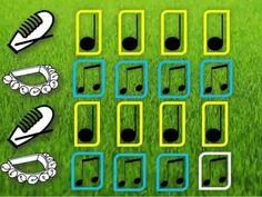 Un cuadrado lleno de punticos (musicograma) - YouTube Tools For Teaching, Teaching Music, Preschool Music Activities, Elementary Music, World Music, Music Lessons, Music Education, Music Videos, Music Instruments