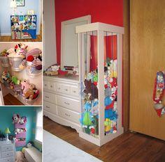 almacén de muñecos