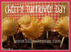 August 28  National Cherry Turnovers Day