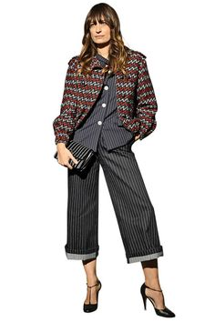 Caroline De Maigret shows off her classic tomboy take in Chanel.
