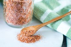 Quick and easy rib rub recipe is the only one you'll need. This Dry Rub for Ribs is made with pantry staples and is so good you'll want to keep a shaker bottle hand for more than just ribs. You can put this delicious dry rub on Chicken, Pork Chops, Sweet Potatoes, Pork Should and more! #smokedribs #ribrub